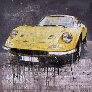 246 Dino GT - Markus Haub - Original Artwork
