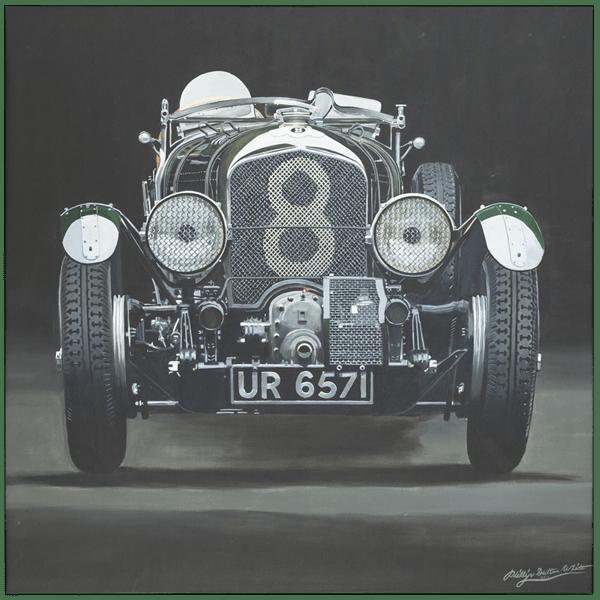 Bentley Blower 1929 - Phillip Dutton White - Limited Edition