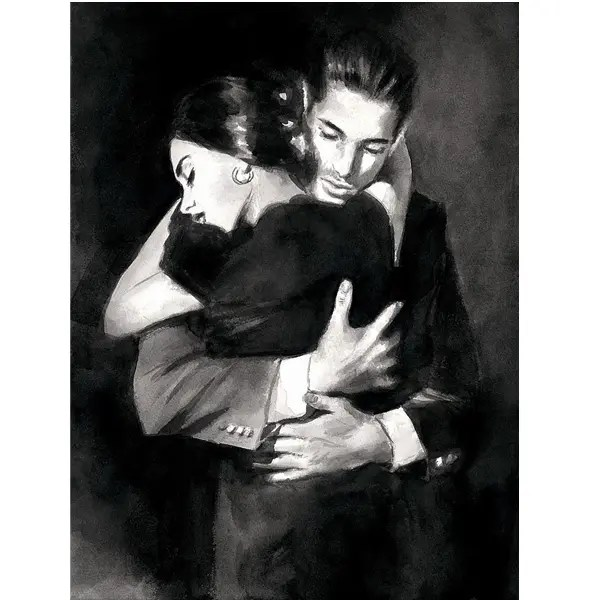 The Embrace II - Fabian Perez - Limited Edition