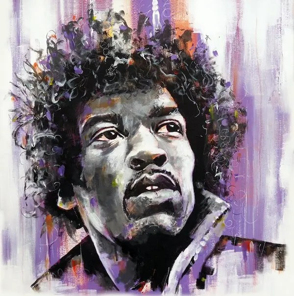 Jimi Hendrix - Leanne Gilroy - Limited Edition