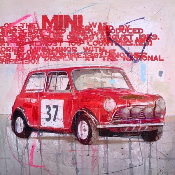 Mini 37 - Markus Haub - Original Artwork