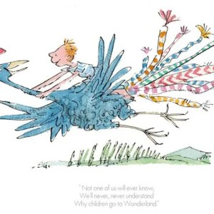 Why Children Go To Wonderland - Quentin Blake - Limited Edition
