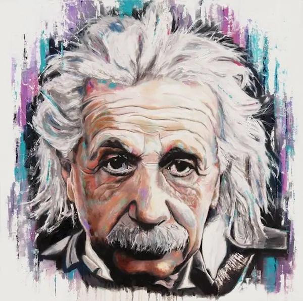 Albert Einstein - Leanne Gilroy - Limited Edition