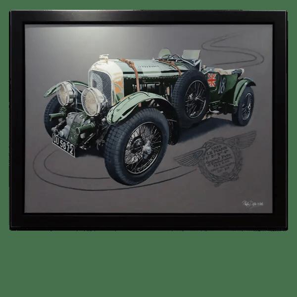 Bentley Blower 1929 - Phillip Dutton White - Original Artwork