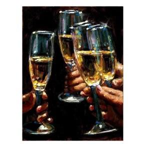 Brindis Con Champagne - Fabian Perez - Limited Edition