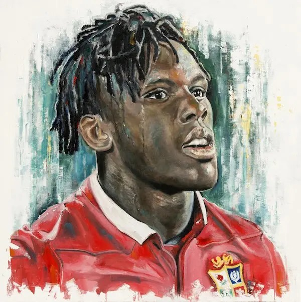 Maro Itoje - Leanne Gilroy - Limited Edition