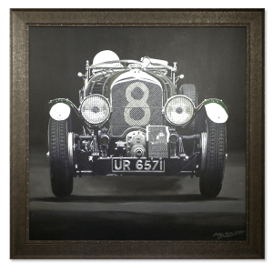 Bentley Blower 1929 - Phillip Dutton White - Original Artwork