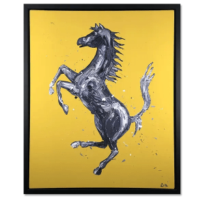 Rampante Cavallo Yellow - Paul Oz - Limited Edition