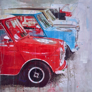 Minis - Markus Haub - Original Artwork