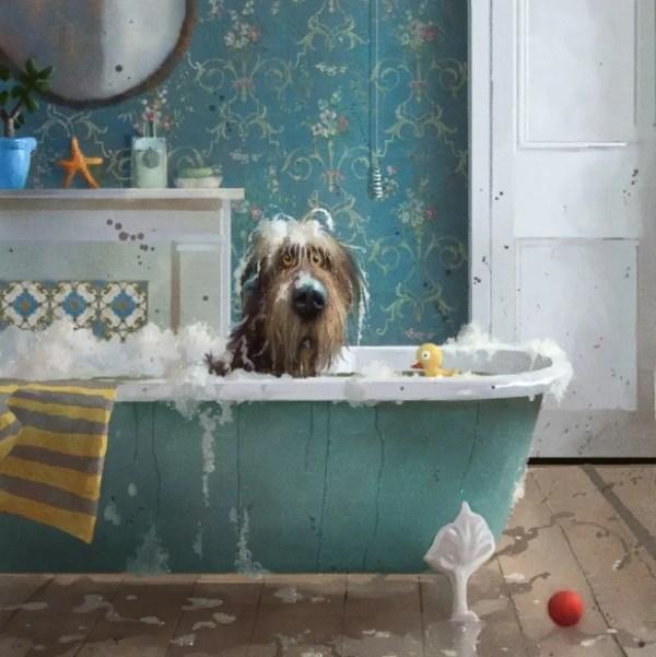 Bath Time - Stephen Hanson - Limited Edition