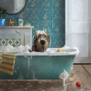 Bath Time - Stephen Hanson - Limited Edition