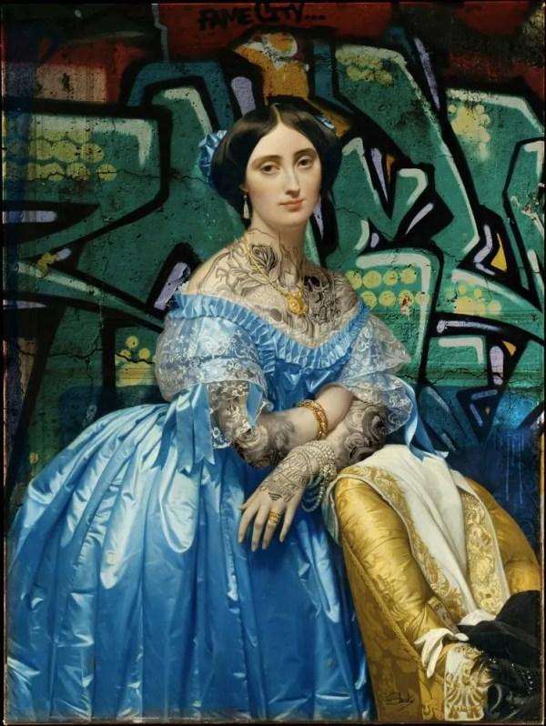 Princesse de Broglie - Slasky - Original Artwork