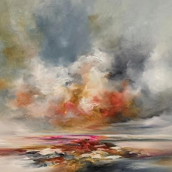 Tangerine Skies - Alison Johnson - Original Artwork