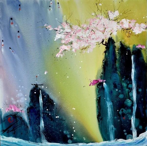 Affairs of the Heart - Danielle O'Connor Akiyama - Original Artwork