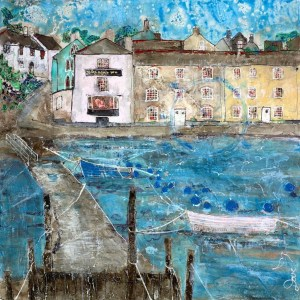Dittisham Devon - Katharine Dove - Original Artwork