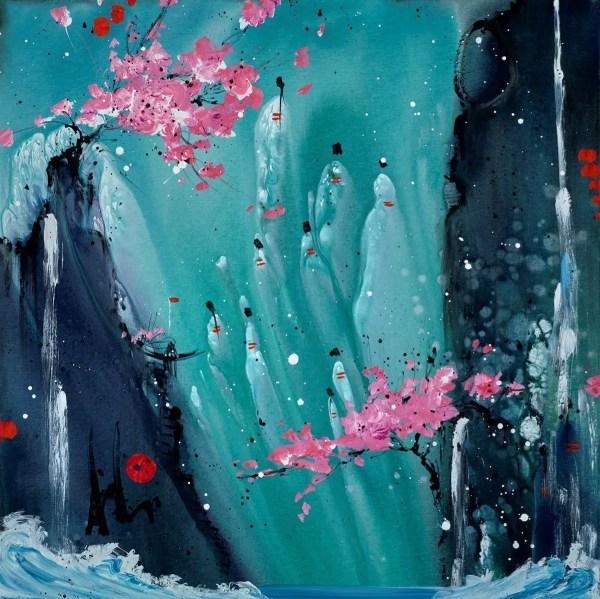 Dreaming Skyward - Danielle O'Connor Akiyama - Original Artwork