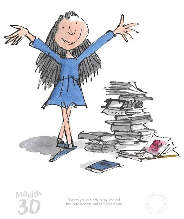 Matilda A Kind Of Magic In You - Quentin Blake - Limited Edition