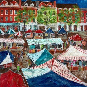 Salisbury Market - Katharine Dove - Original Artwork