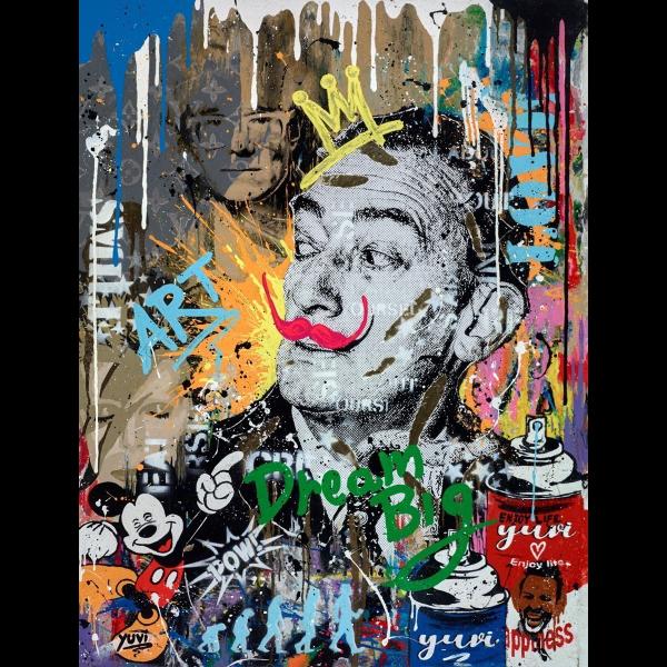 Salvador Dali - Yuvi - Original Artwork