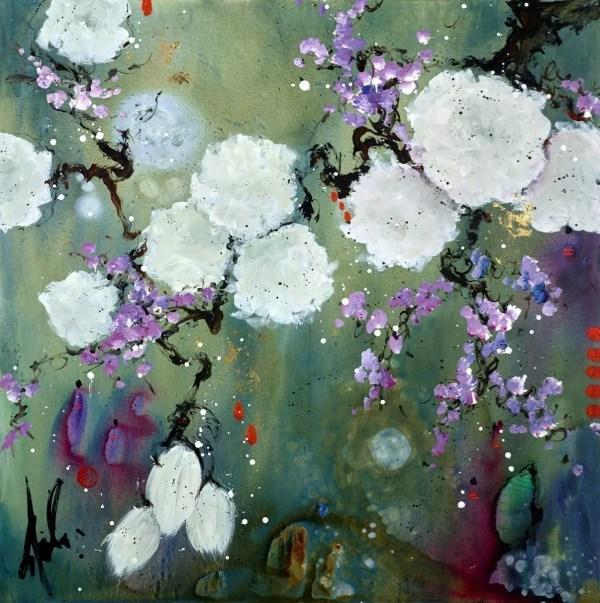 The Moon in Our House - Danielle O'Connor Akiyama - Original Artwork