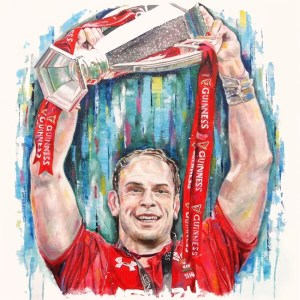 Alun Wyn Jones - Leanne Gilroy - Limited Edition