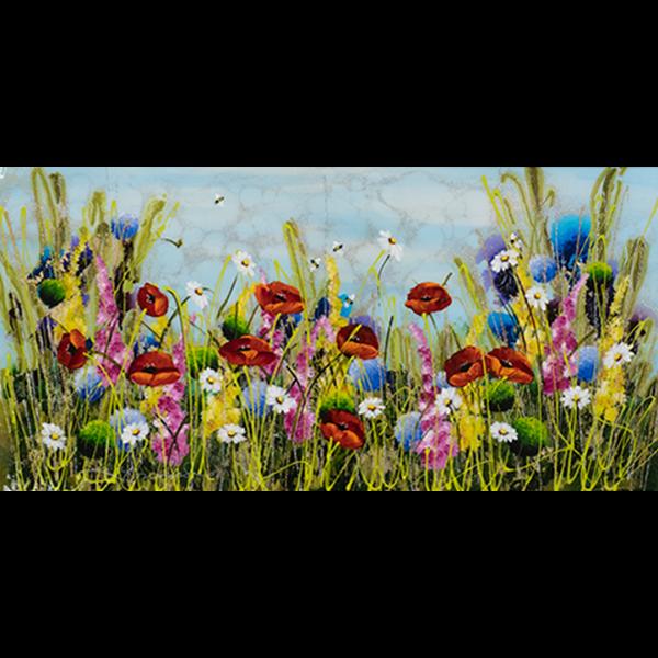 Summer Poppies - Rozanne Bell - Original Artwork