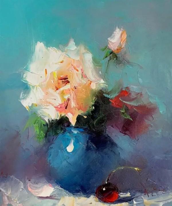Falling For You - Aziz Sulaymanov - Original Artwork