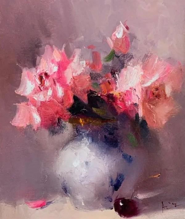 I Love You - Aziz Sulaymanov - Original Artwork
