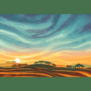 Sun Down - Rebecca Vincent - Limited Edition