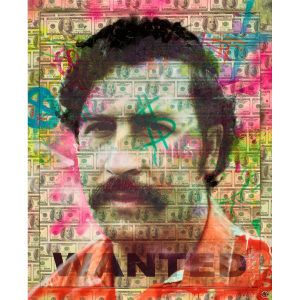 Pablo Escobar - Dan Pearce - Original Artwork
