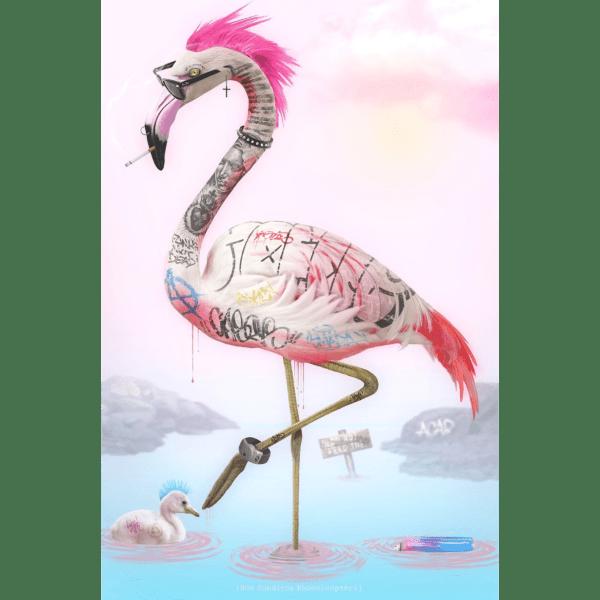 Punk Flamingos - JJ Adams - Limited Edition