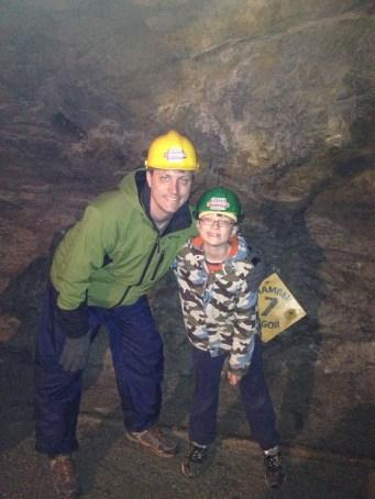 Slate Mining in the mines of Blaenau