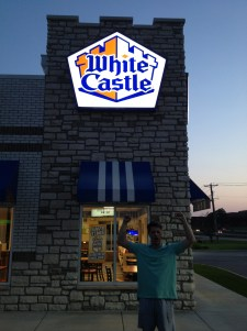 It isn't a visit to MO without a trip to White Castle
