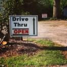 Drive Thru pick up is fun!