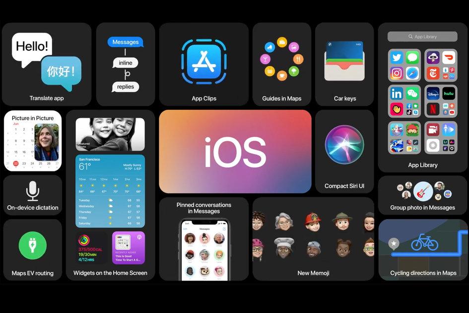 Apple's iOS 14: Available Now.