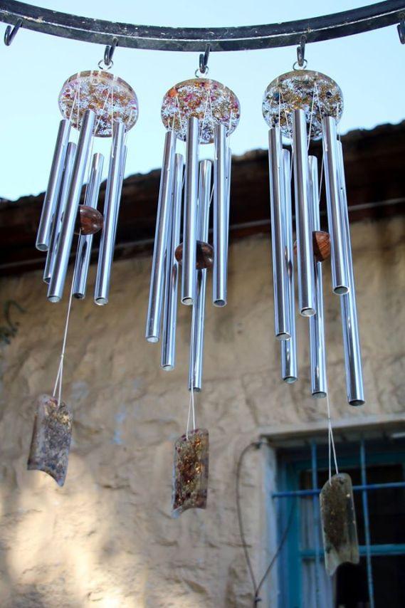 tuned orgone wind chimes, Lightstones & Jerusalem Chimes