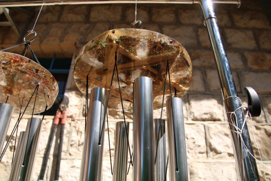 orgone tuned wind chimes by Lightstones&JerusalemChimes