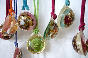 Lightstones small orgone pendants