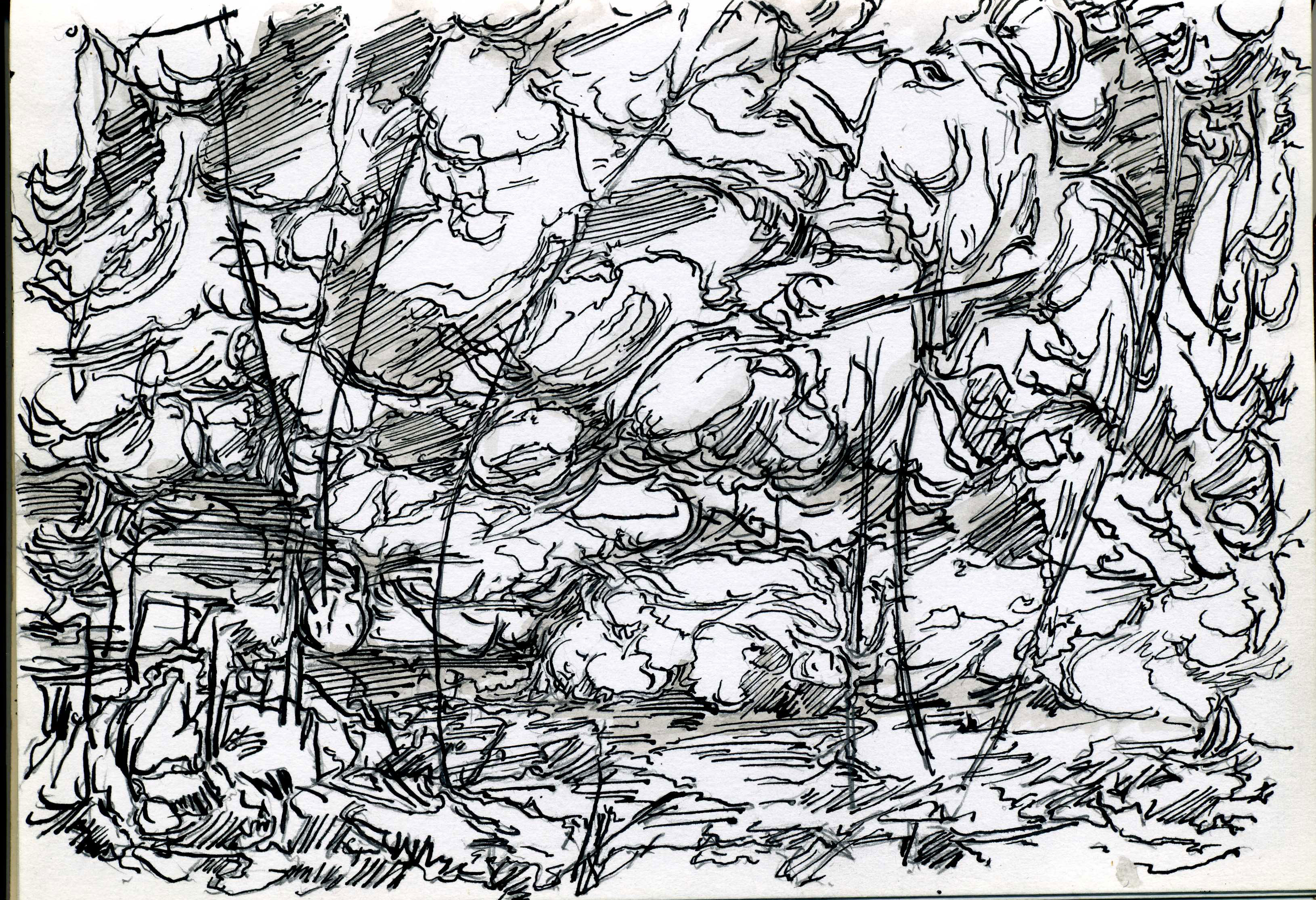 Drawings Landscapes The Weald Of Kent