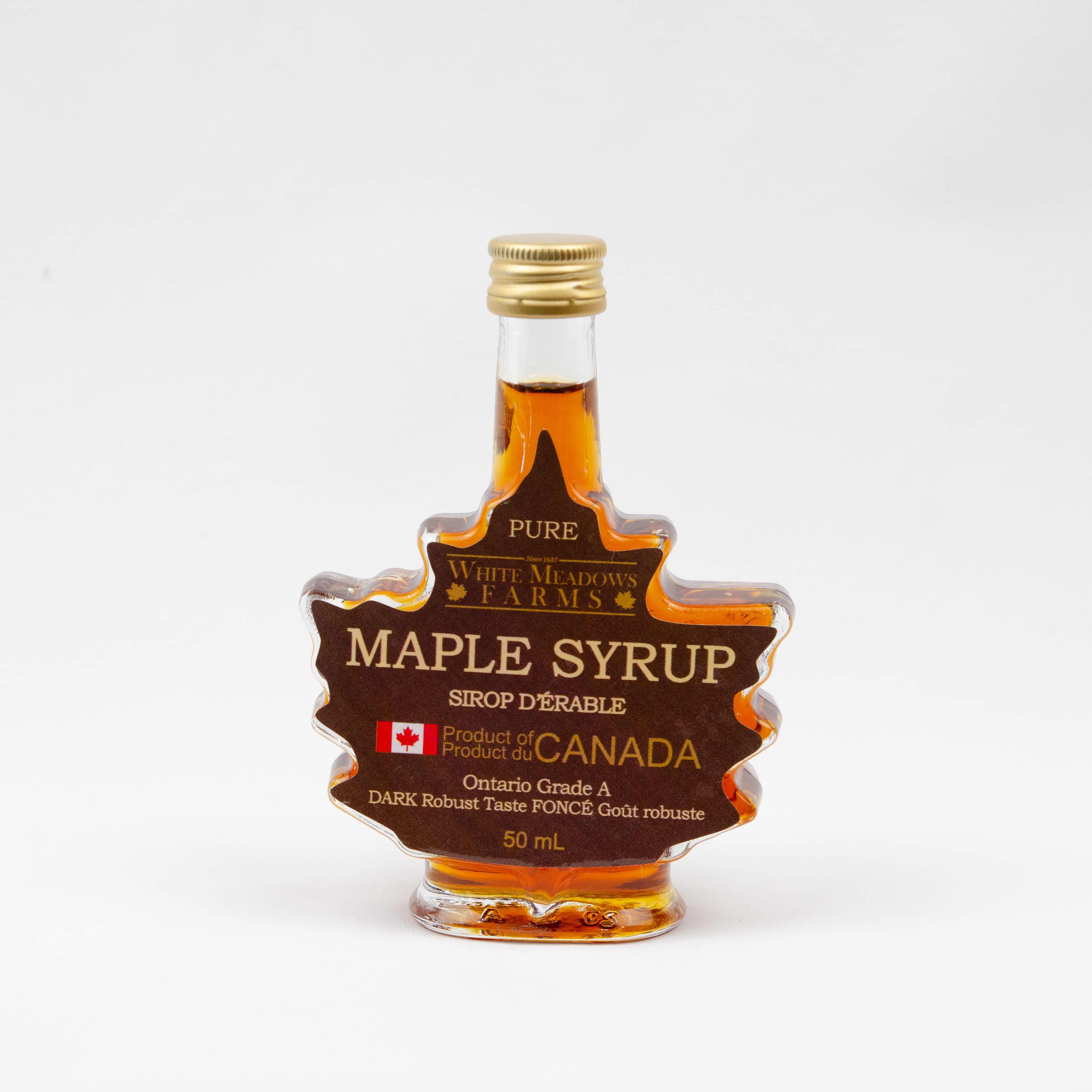 50ml Leaf Maple Syrup White Meadows Farms
