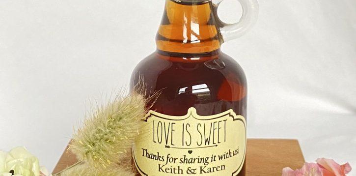 Maple Wedding Favours