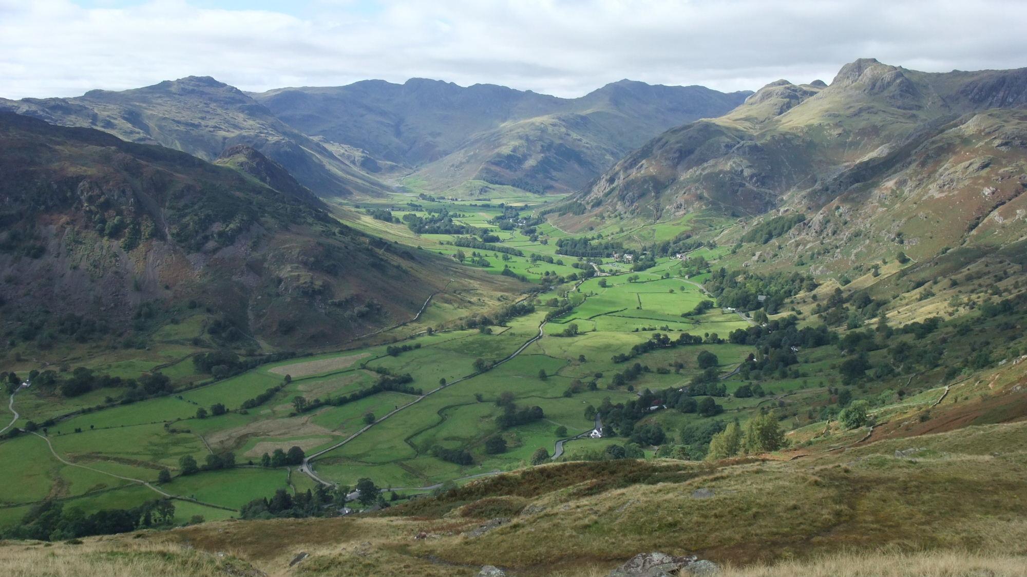 Langdale below