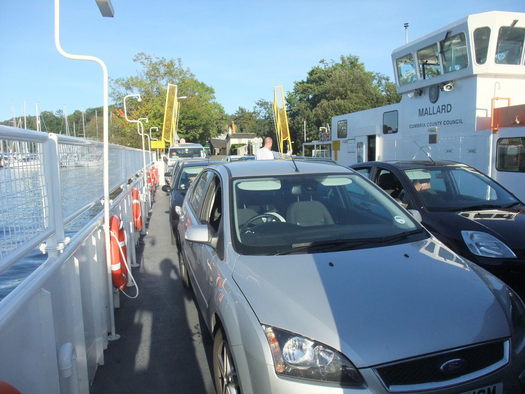 Ferry across lake Windermere