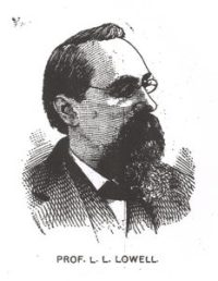 Professor Lemuel L. Lowell (1837-1914)