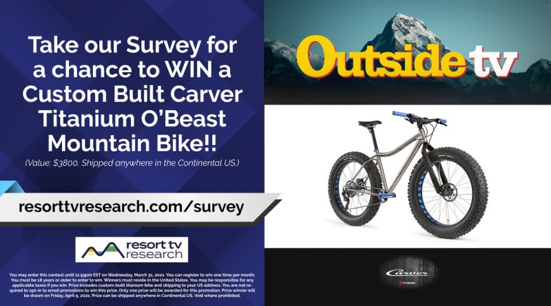 Win a Custom Carver Titanium O'Beast Fat Bike!