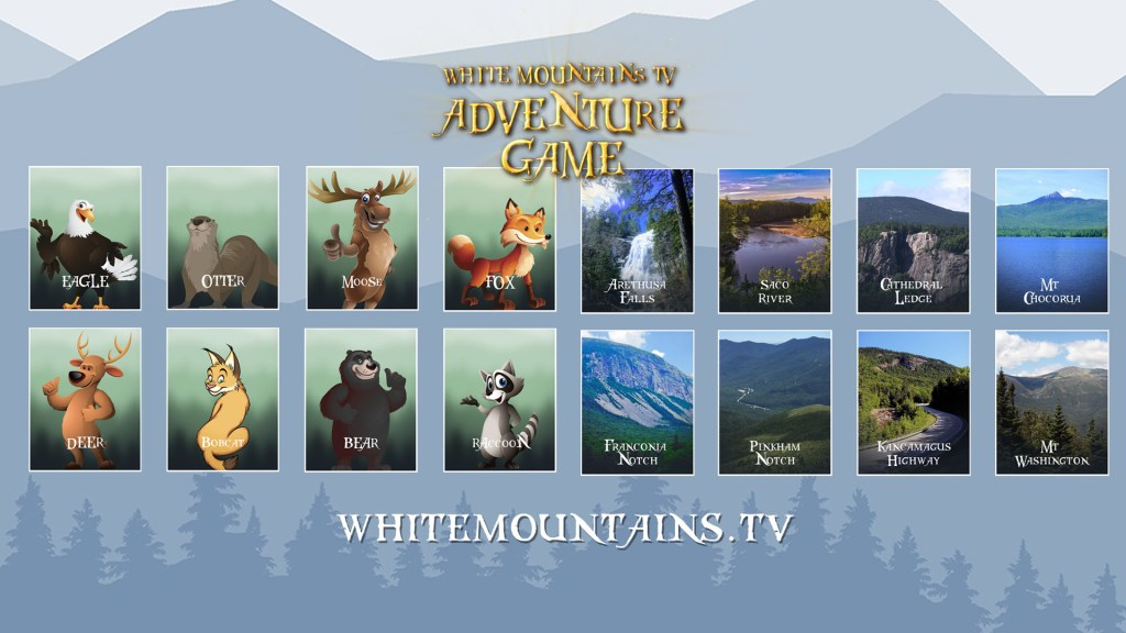 White Mountains TV Adventure Game