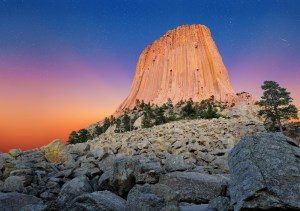 devils tower, wyoming, national park