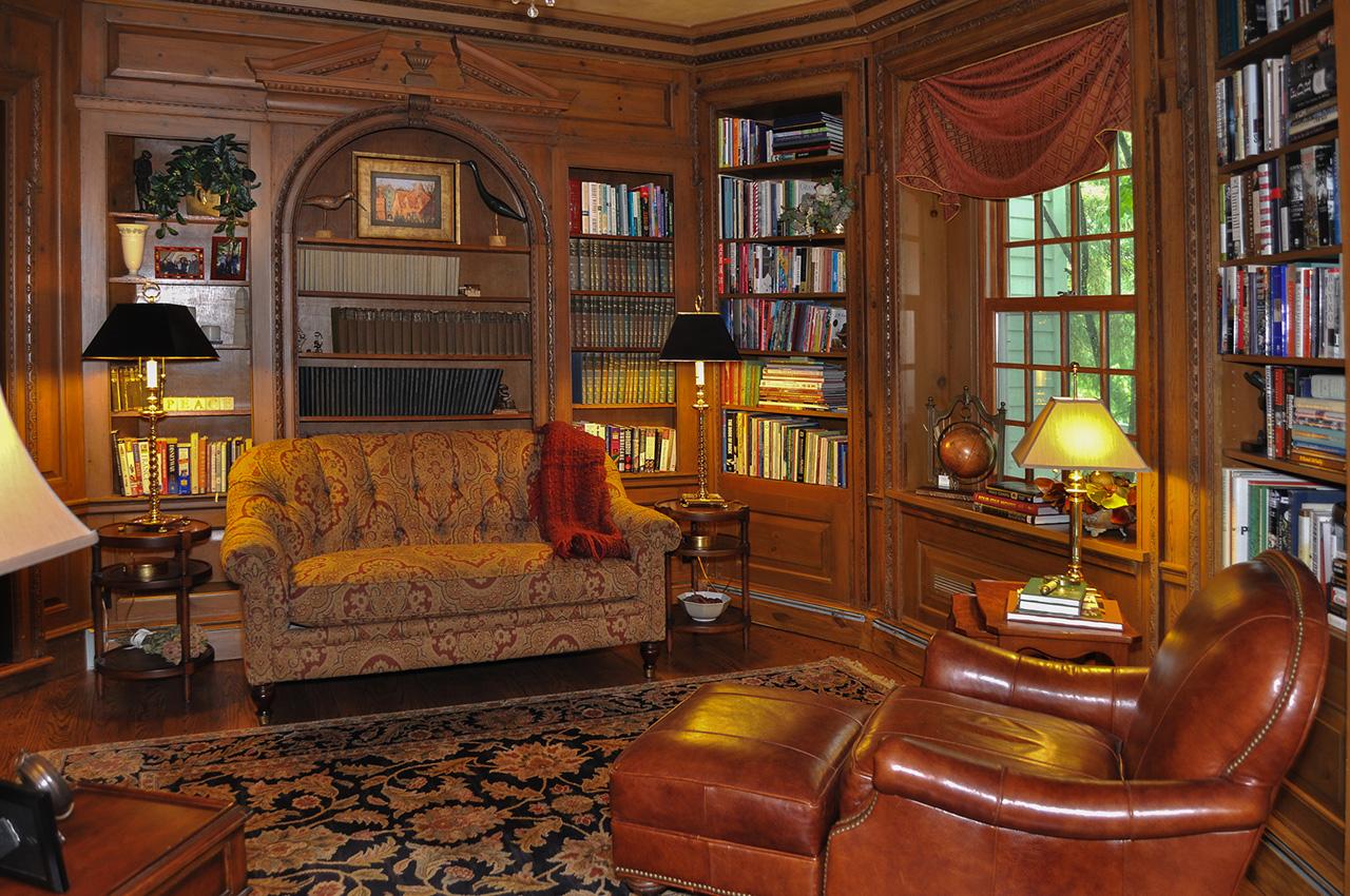 Tuscan Old World White Oak Interiors