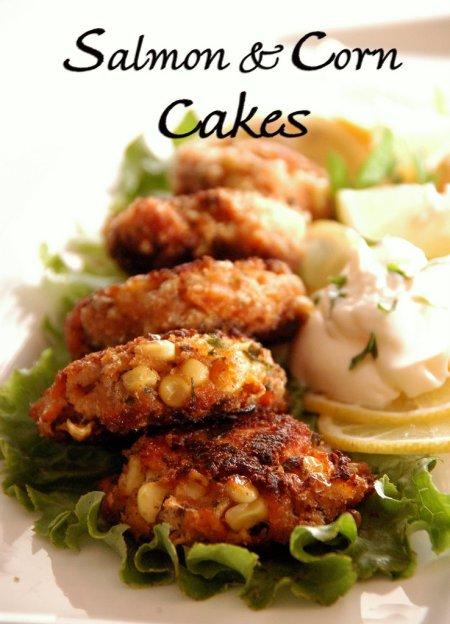 salmon-and-corn-cakes-recipes