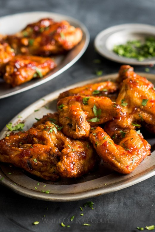 Incredible Asian Chicken Wings Recipe that's a Sticky Fish Sauce Chicken Wings Recipe from @whiteonrice